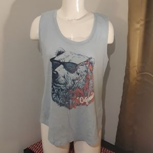 Lucky Brand New Without Tags Cali Bear Tank L